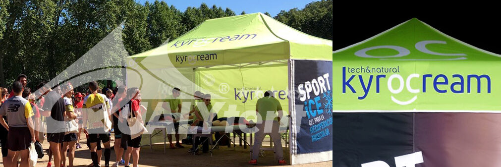 Carpa plegable full print Kyrocream