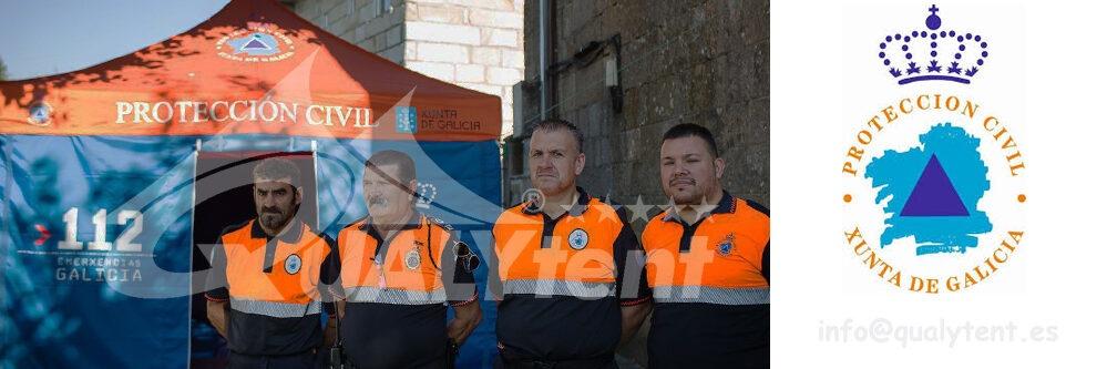 Carpas plegables personalizadas para Xunta de Galicia