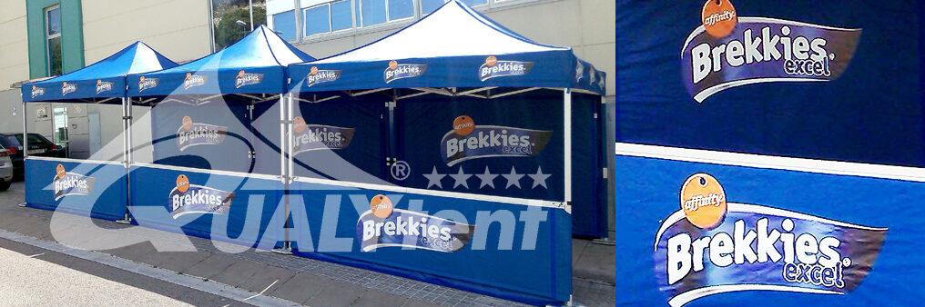 Carpas plegables estampadas para Affinity Brekkies