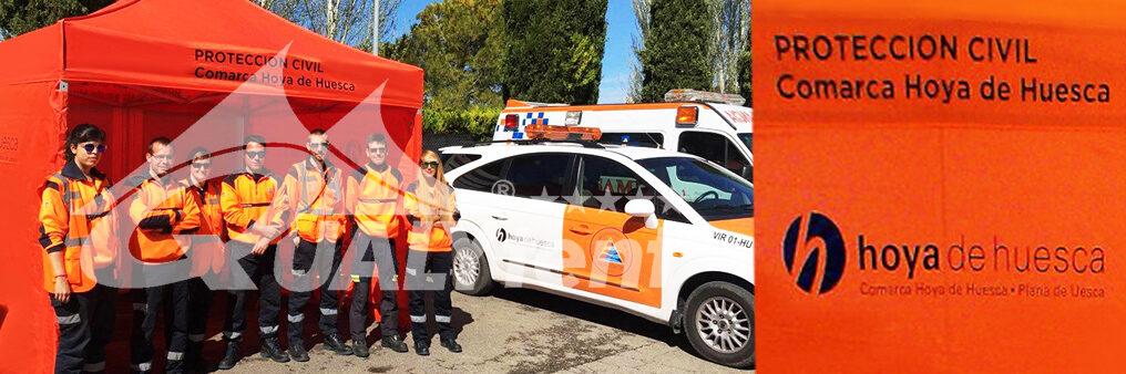 Carpa plegables Rescue para Protección Civil