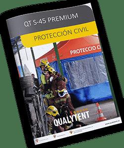 Catálogo carpas plegables para protección civil