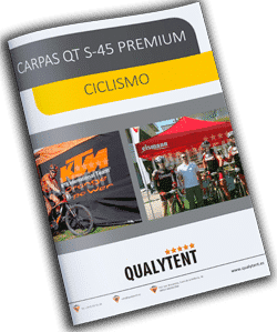 Catálogo carpas plegables para ciclismo