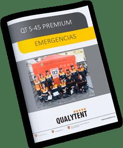 Catálogo carpas plegables para emergencias
