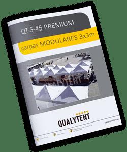 Catálogo carpas plegables modulares de 3x3m