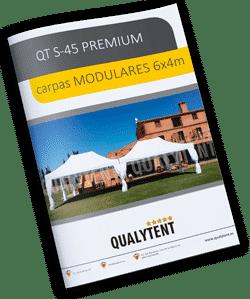 Catálogo carpas plegables modulares de 4x6m