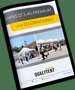 Catálogo carpas plegables para celebraciones