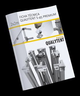 Ficha técnica carpa plegable de 2x2m Premium