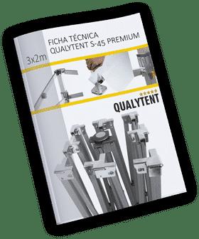 Ficha técnica carpa plegable de 2x3m Premium