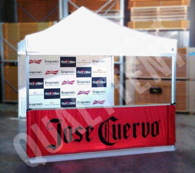Carpa full print José Cuervo de 3x3m
