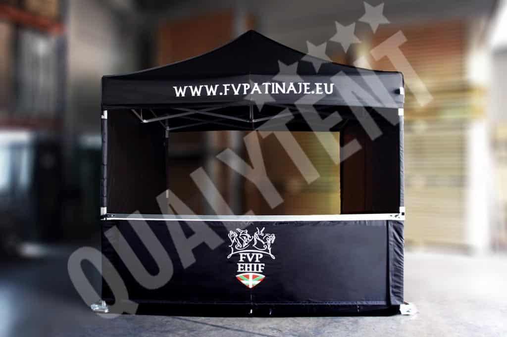 Carpa plegable de 3x3m con personalización