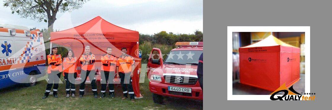Carpas Rescue para equipos de emergencias
