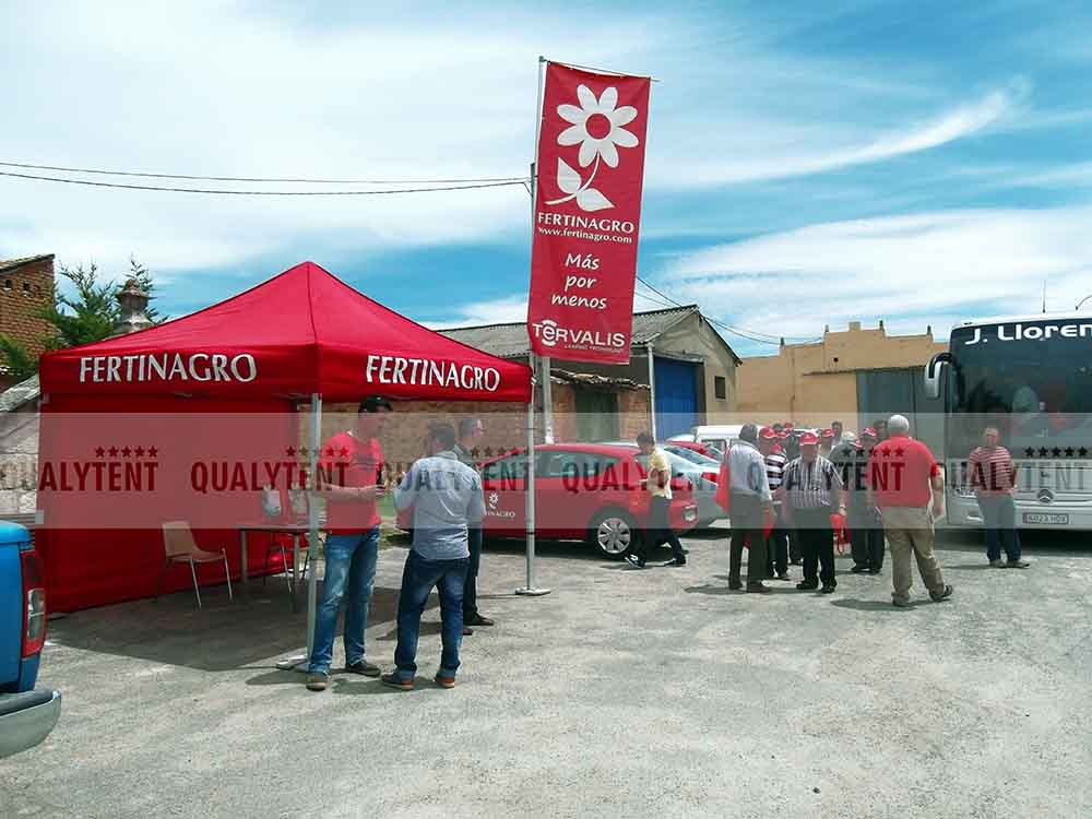 Carpas estampadas para Fertinagro
