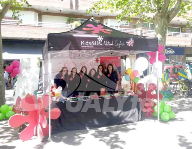 Carpa personalizada Kids & Us, carpas full print