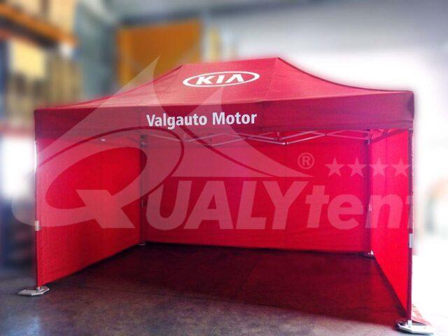 Carpa plegable de 4.5x3m Premium con personalización Kia