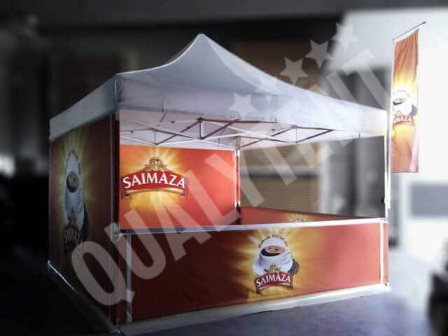 Carpas full print Saimaza de 4x4m