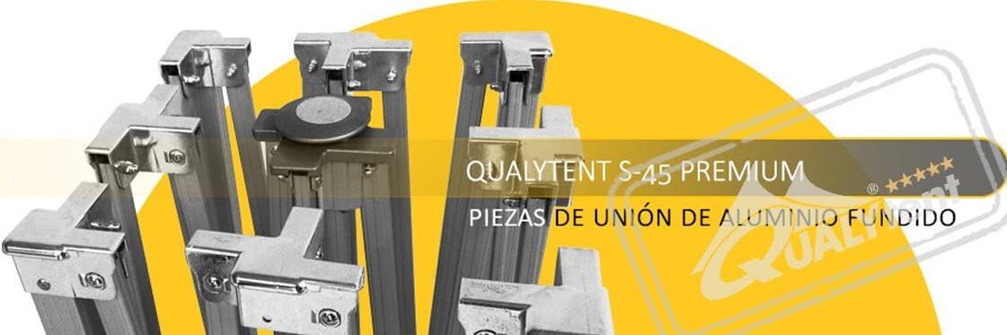Carpa plegable de fabricación europea de Qualytent
