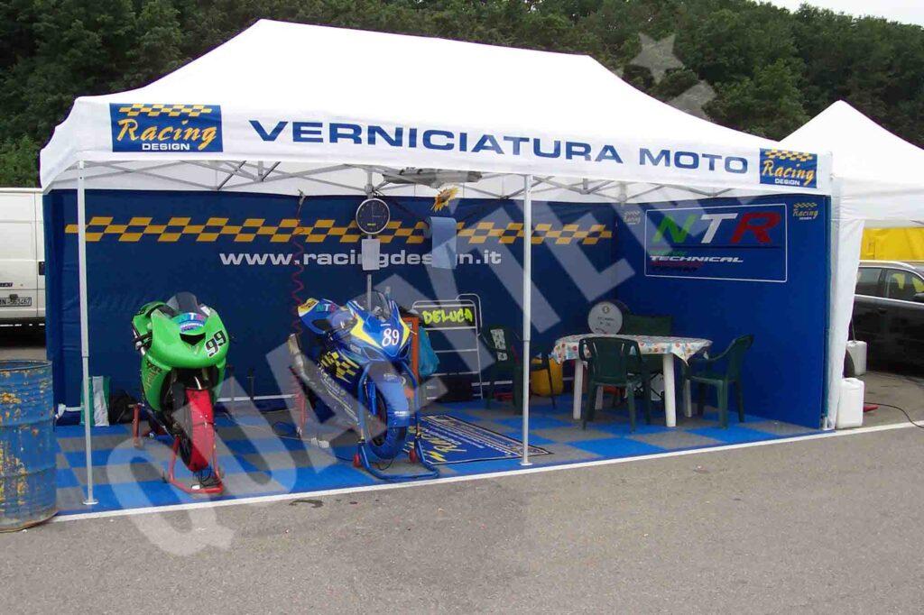 carpa racing design de 3x6m