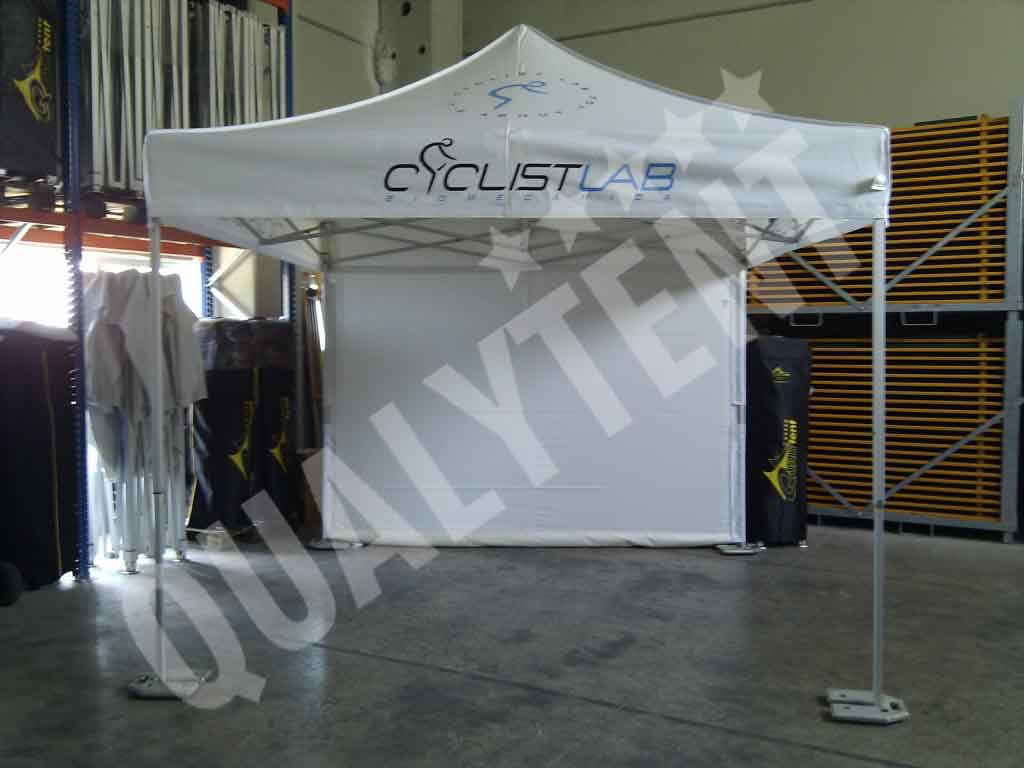 Carpa estampada para Cyclistlab de 3x3m