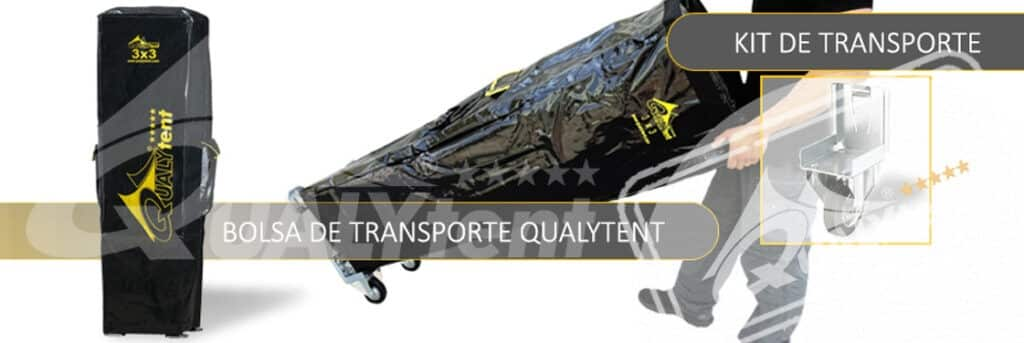 Carpas plegables kit de transporte