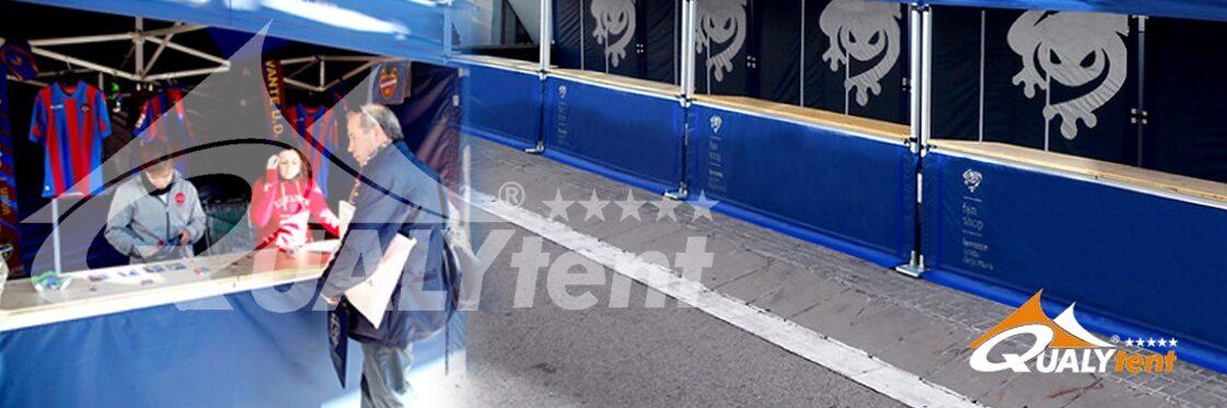 Carpas plegables de 3x3m para Levante Unión Deportiva