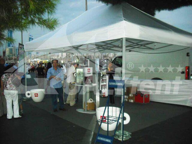 Carpas plegables de 6x4m de color blanco, carpas para eventos