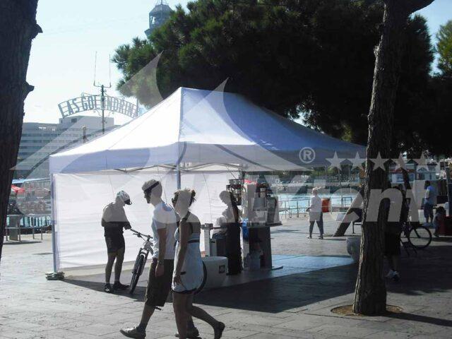 Carpas plegables de 4x6m de color blanco, carpas para eventos