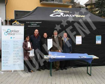 Carpa plegable de 8x4m Premium de color negro