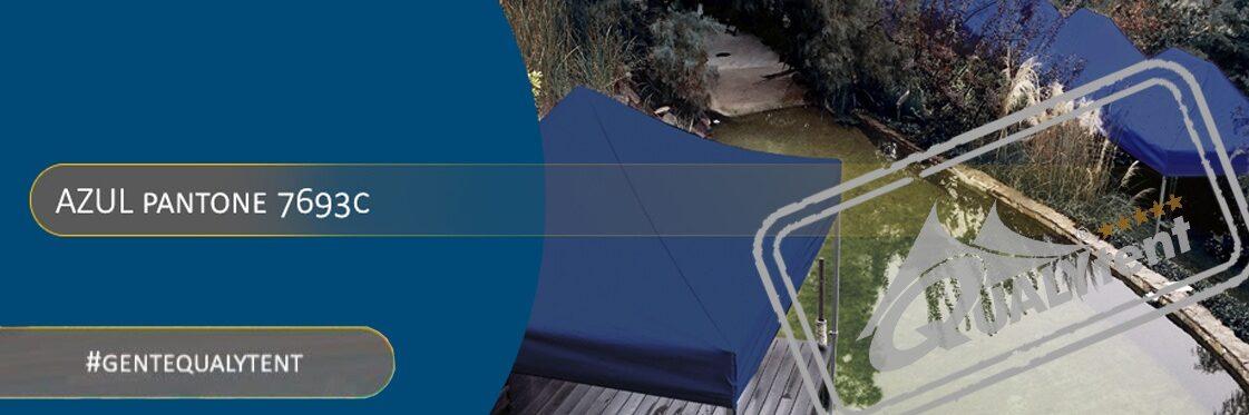 Carpas plegables azules Qualytent Premium