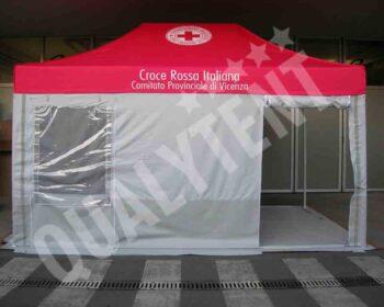 Carpa de 4.5x3m Rescue para Cruz Roja
