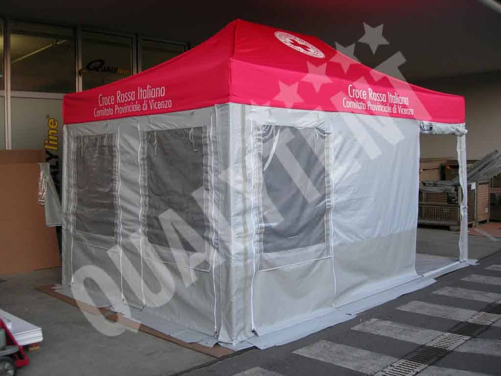 Carpa plegable Rescue de 3x4.5m Qualytent