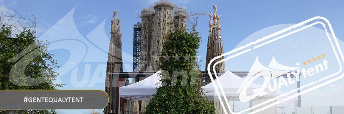 Carpas plegables de alquiler en Barcelona