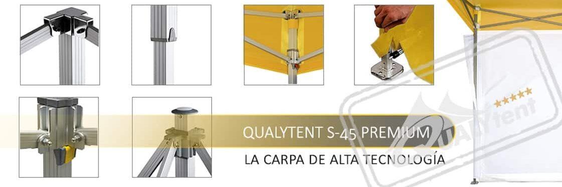 Fabricantes europeos de carpas plegables Premium