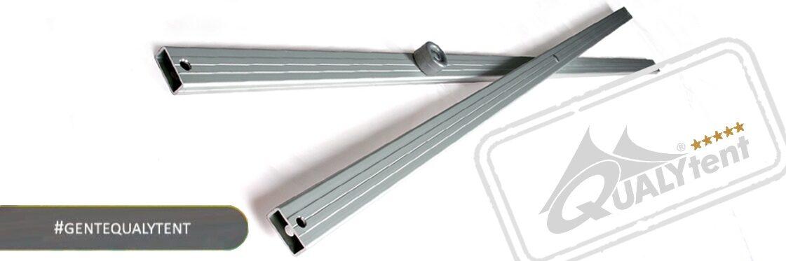 Tijeras de aluminio anodizado de Qualytent