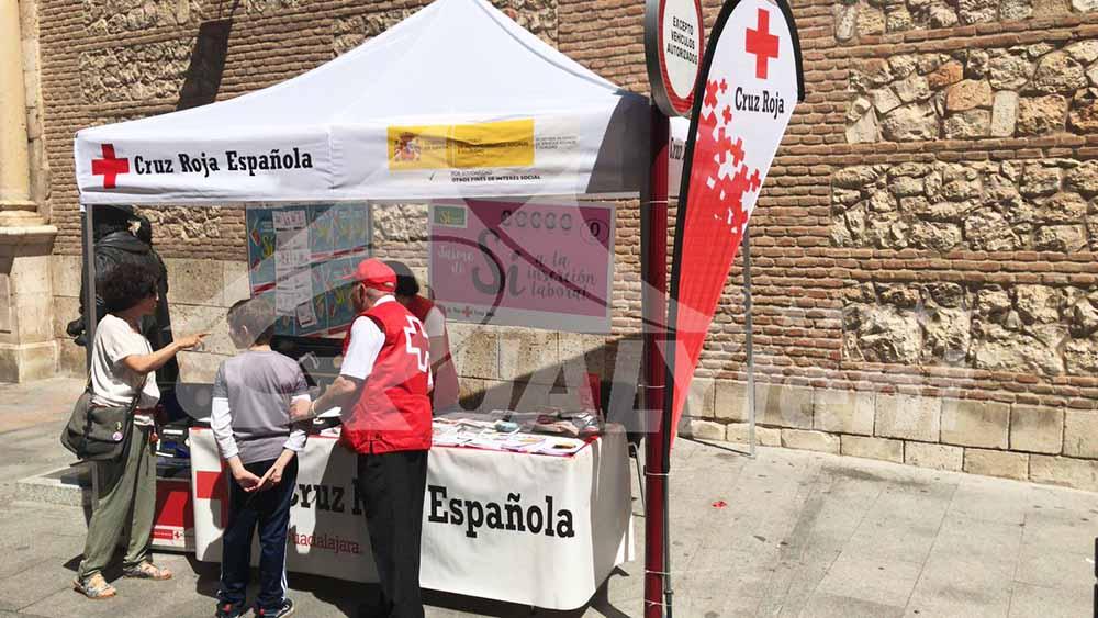 Carpa plegable Cruz Roja Guadalajra de 3x3