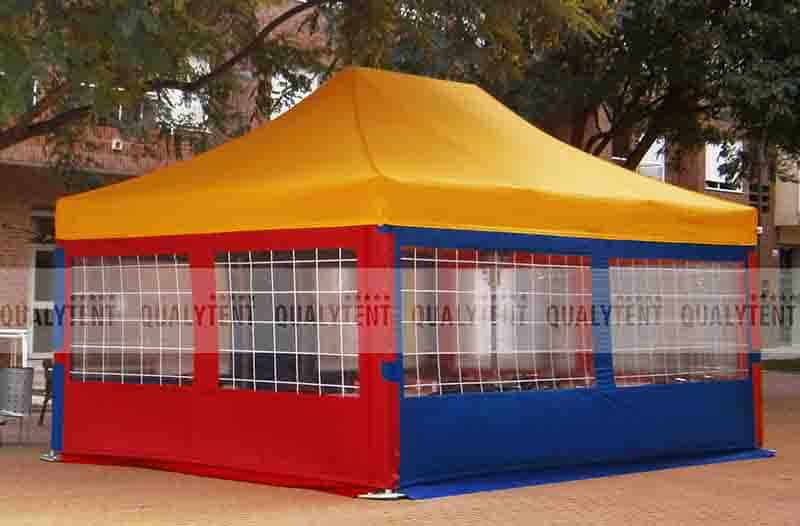 Carpa plegable de 4x6m de colores Qualytent