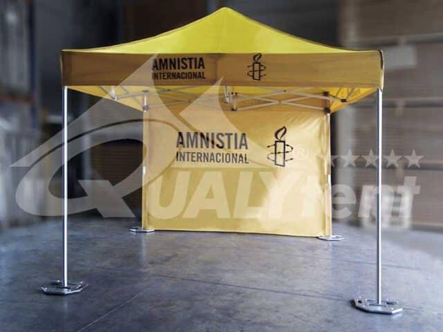 Carpa personalizada para Aministía Internacional