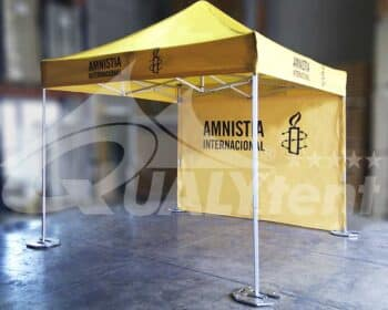 Carpa amarilla 3x3 Amnistía Internacional