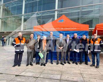 Carpas plegables para emergencias Rescue de Qualytent