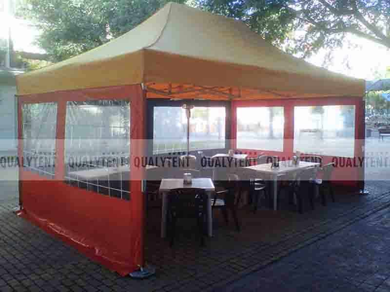 Carpa plegable terrazas de bar Qualytent