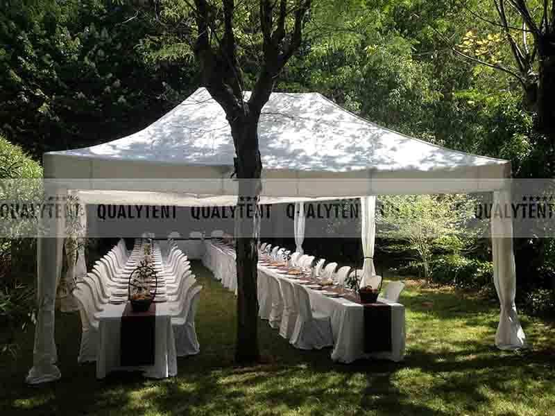 Carpas elegantes para catering de Qualytent