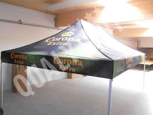 Carpa plegable de 3x4.5m personalizada para Corona Extra