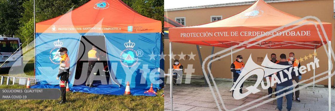 Hospital de campaña con carpas Rescue de Qualytent