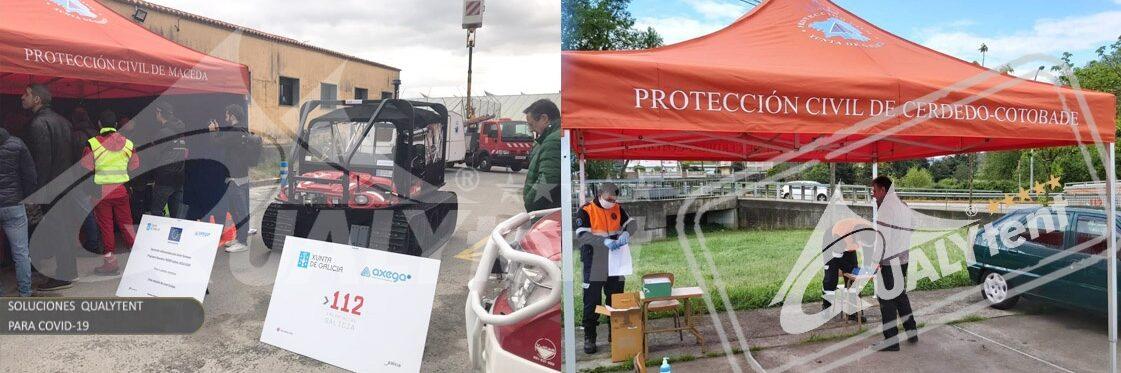 Carpas para la Xunta de Galicia para emergencias y rescates