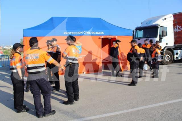 Carpa Rescue Protección Civil