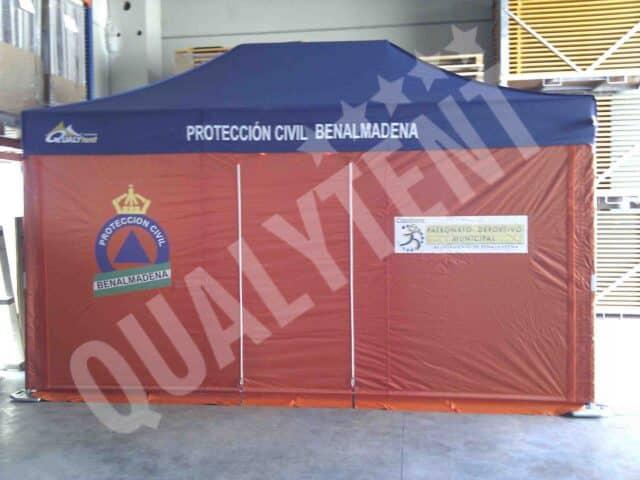 Carpas Rescue para Protección Civil