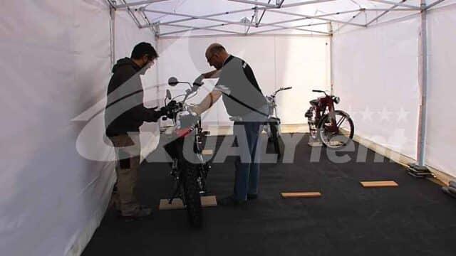 Carpas para motociclismo