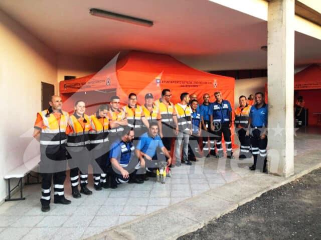 Carpas Rescue en Canarias