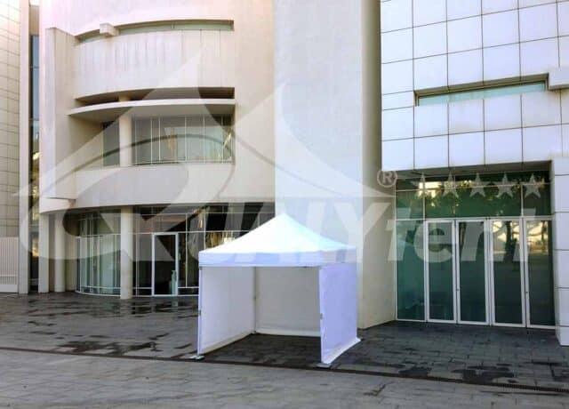 Carpas de 3x3m de color blanco