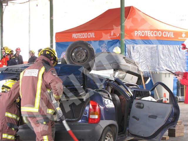 Carpas Protección Civil Lleida