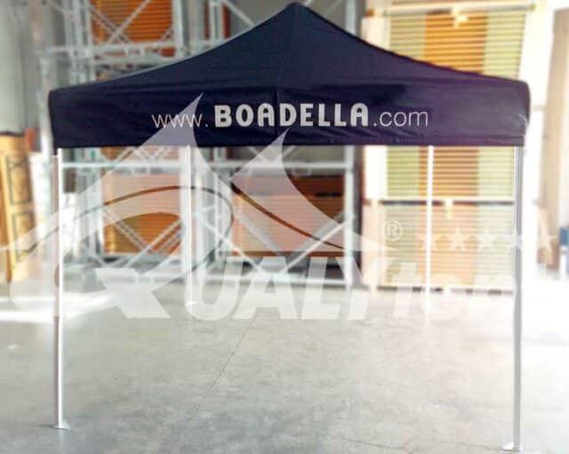Carpa plegable de 3x3m para Boadella